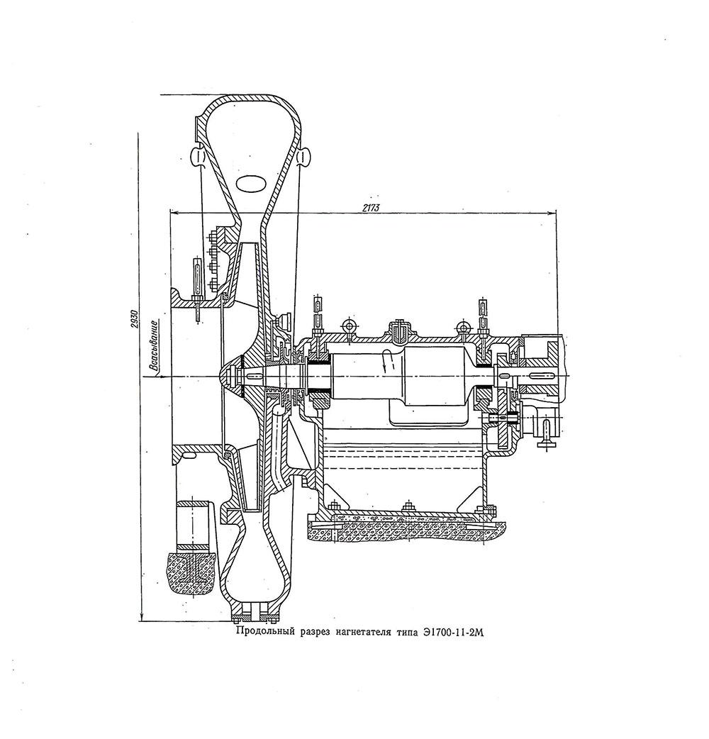 SUPERCHARGER E-1700-11-2M